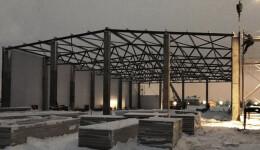 будівництво з металоконструкцій